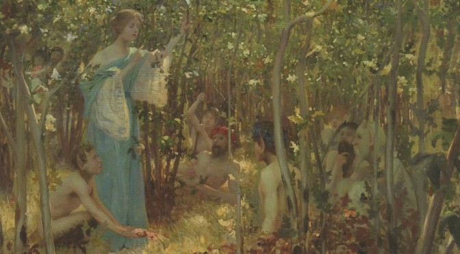 Una and the Fauns
