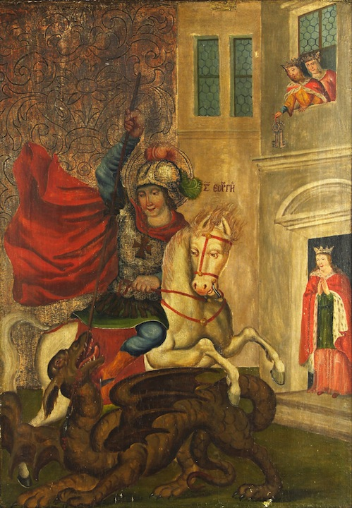St. George the Victorious. Artist Unknown.