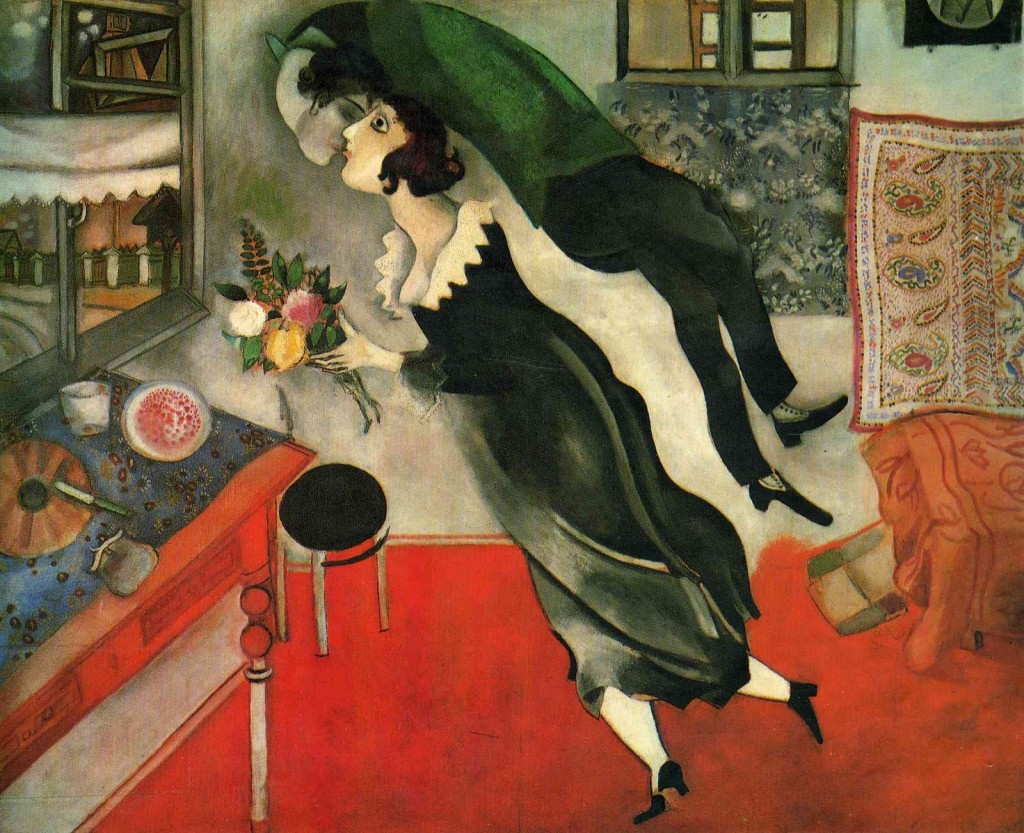 Birthday. Marc Chagall. 1915.