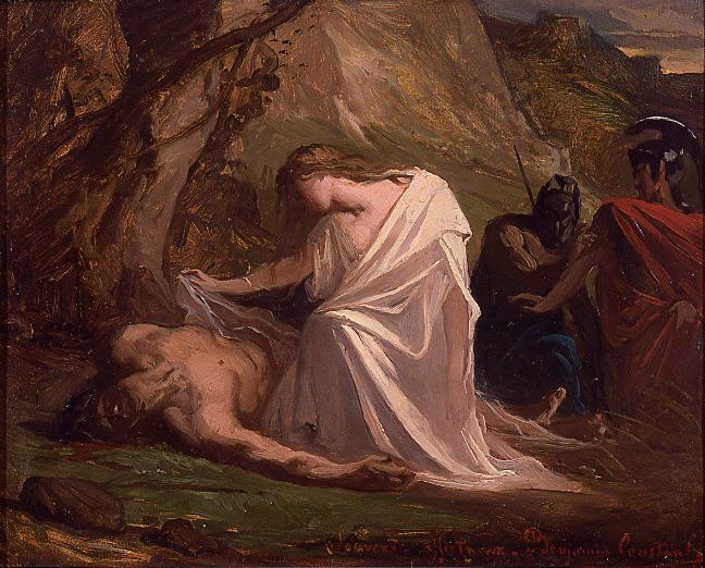 Antigone and Polynice. Benjamin Constant.