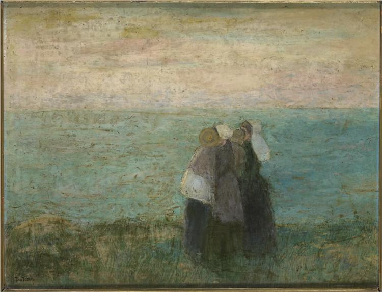 Women at the Sea. Jan Toorop. 1891.